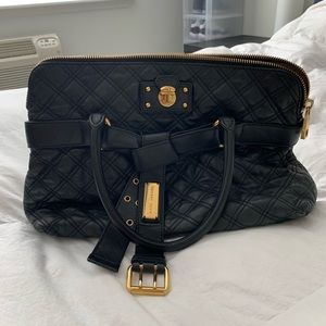 Marc Jacobs quilted leather hand held bag